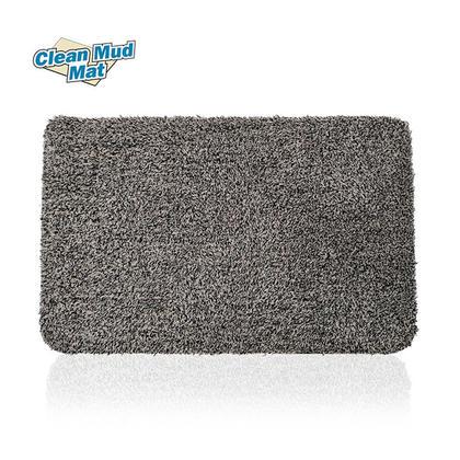 Paillasson anti-boue paillasson super absorbant tapis de porte gris, 28