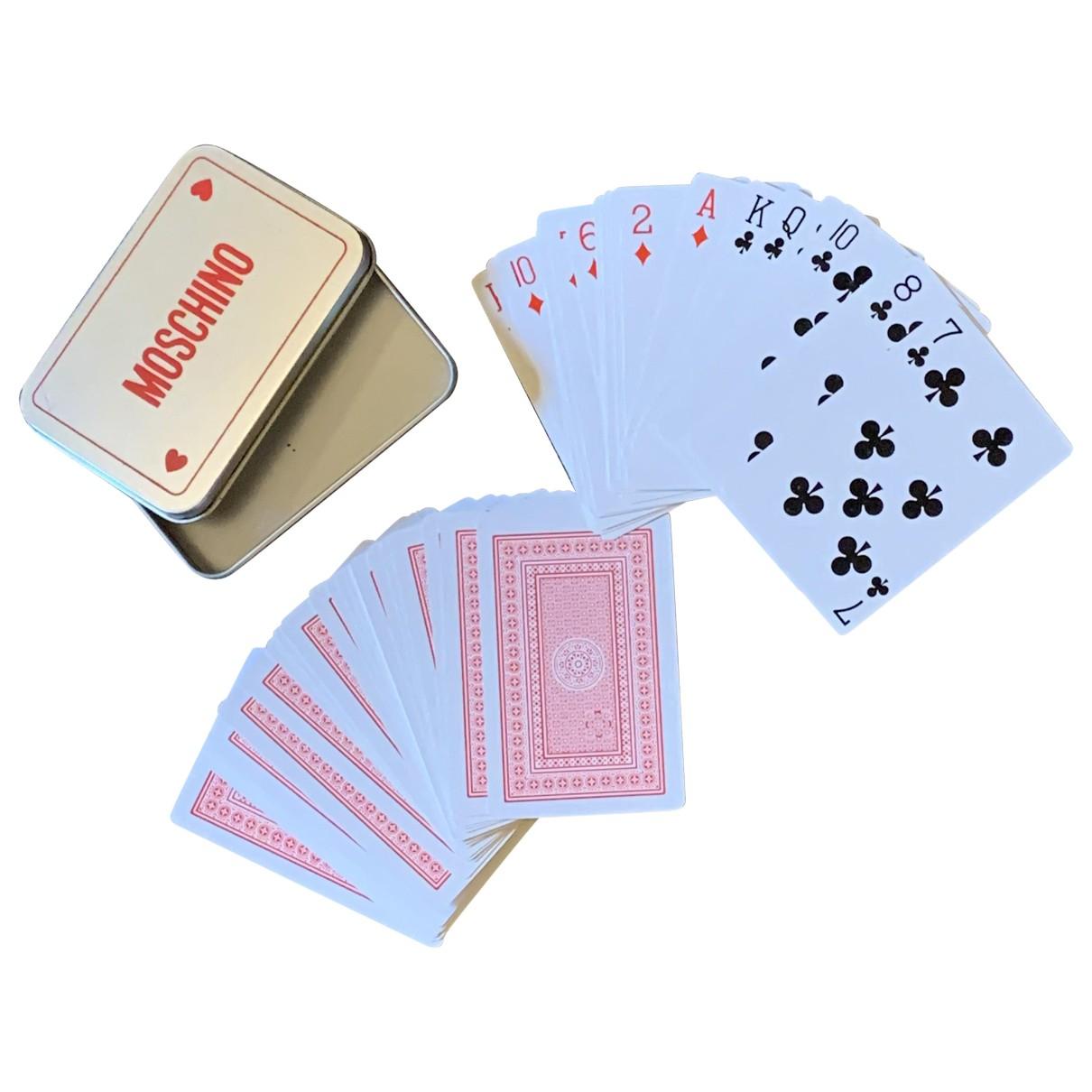 Juego de cartas Moschino