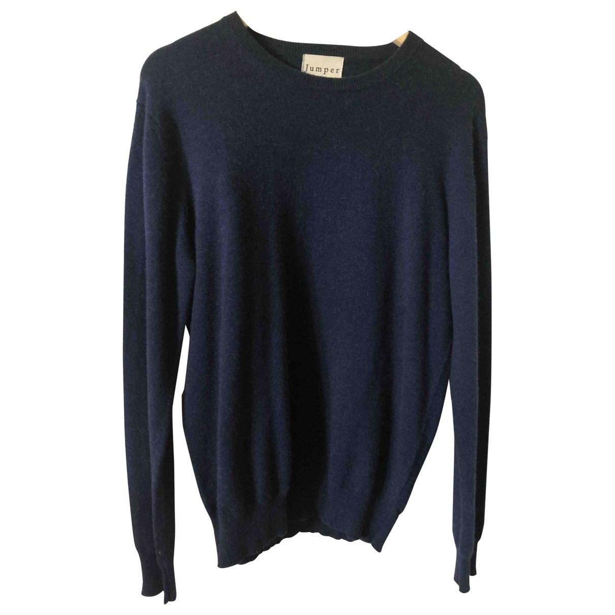 Jumper1234 \N Blue Cashmere Knitwear for Women 3 0-5