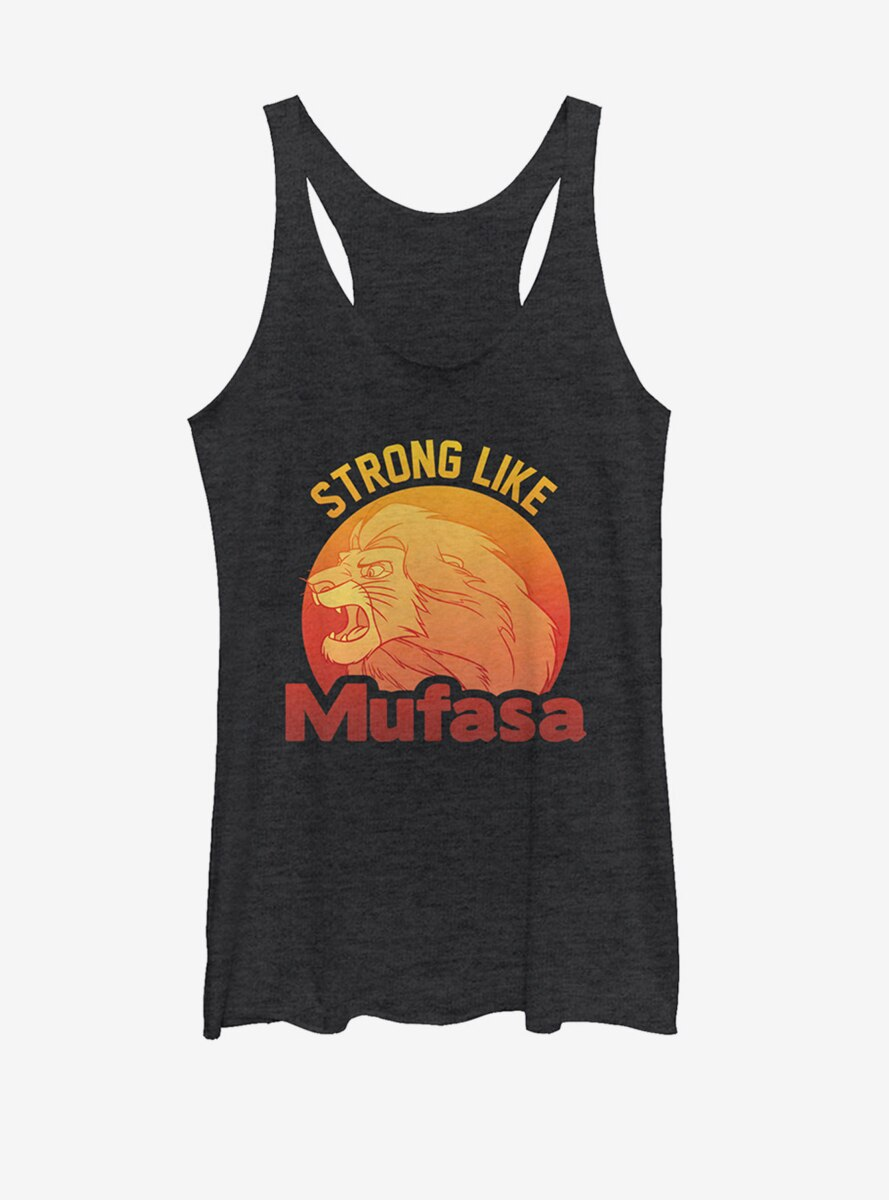 Disney The Lion King Simba Strong Like Mufasa Womens Tank