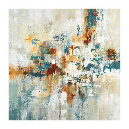 Boston Warehouse 40X40 Ebb And Flow II Canvas Art, One Size , Multiple Colors