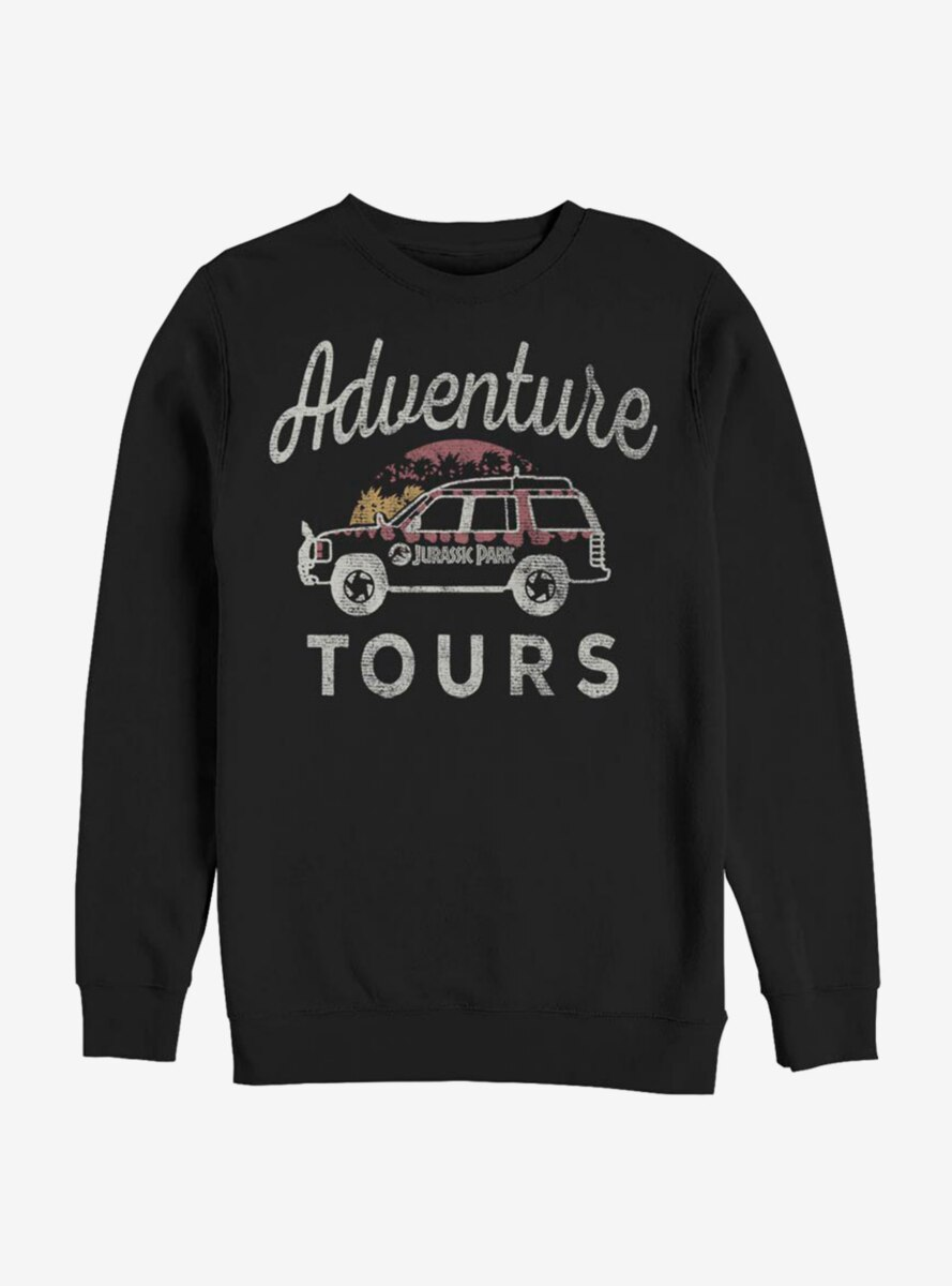 Jurassic Park Adventure Tours Sweatshirt