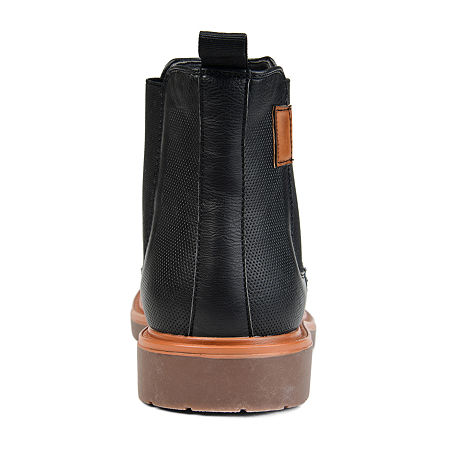 Vance Co Mens Tanner Chukka Boots Block Heel, 10 Medium, Black