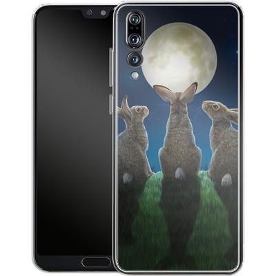 Huawei P20 Pro Silikon Handyhuelle - Moonshadows von Lisa Parker