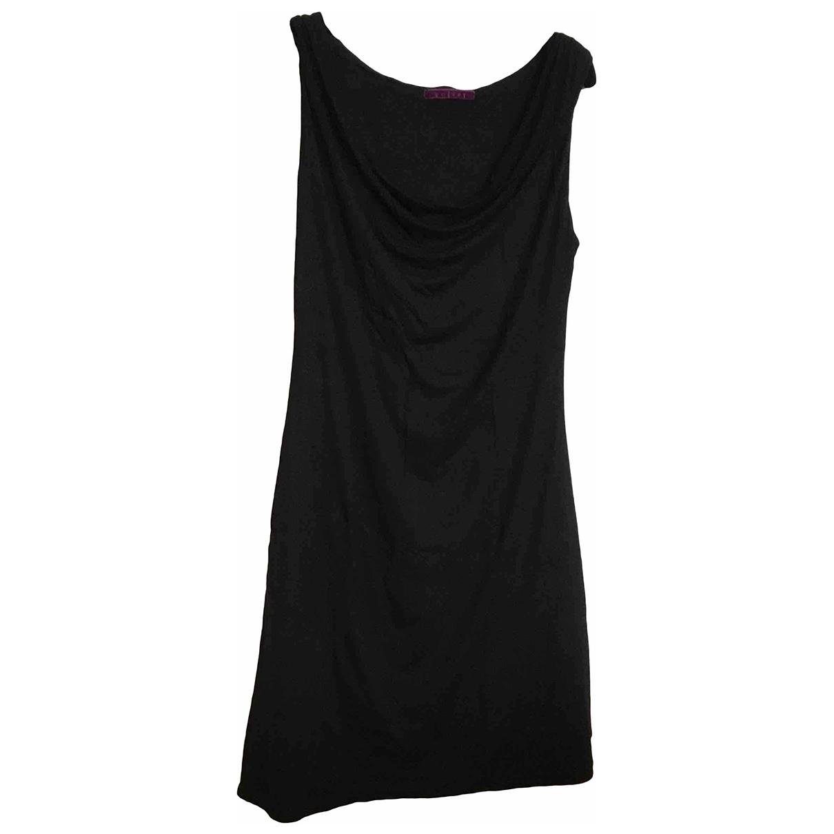 Velvet \N Black Cotton - elasthane dress for Women 2 US