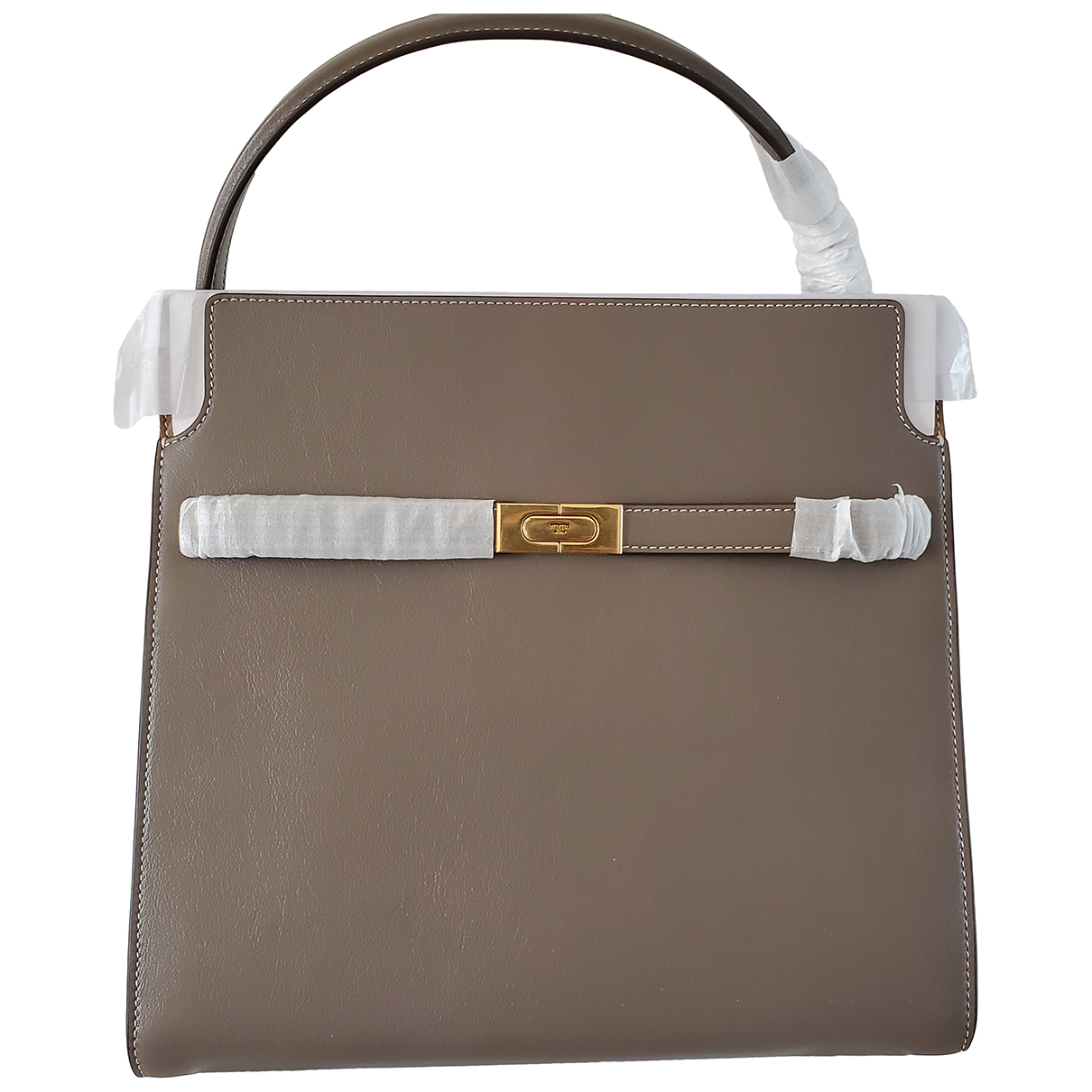 Tory Burch N Grey Leather handbag for Women N