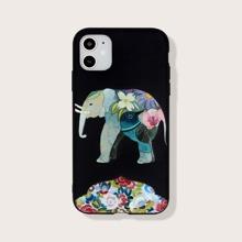 iPhone Huelle mit Elefant Muster