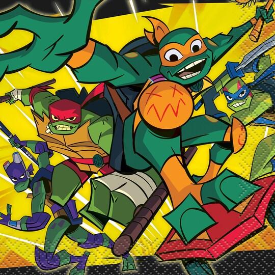 Teenage Mutant Ninja Turtles Beverage Napkins, 16Ct. By Nickelodeon | Michaels®
