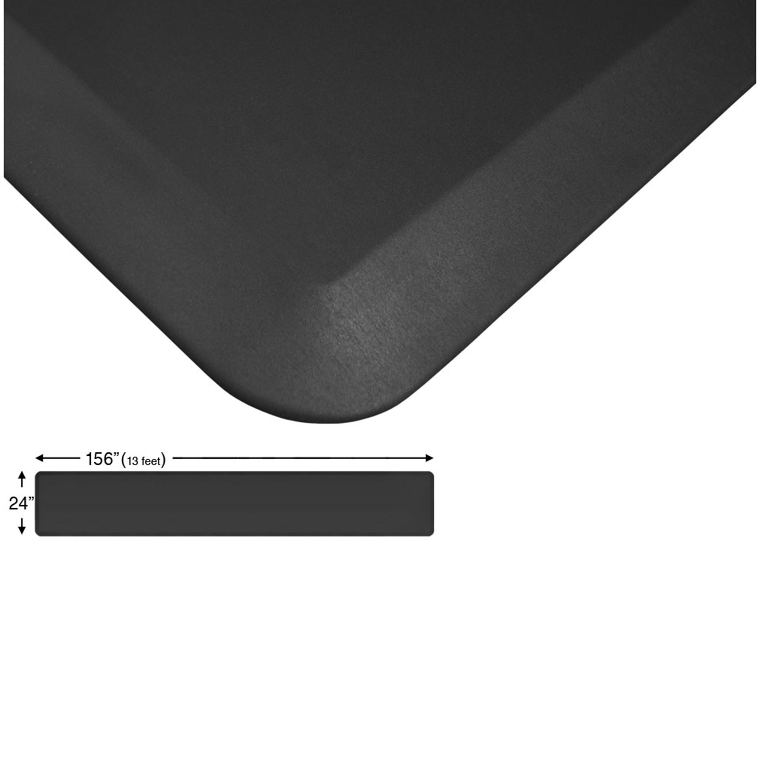 Eco-Pro Continuous Comfort Mat, Black, 24