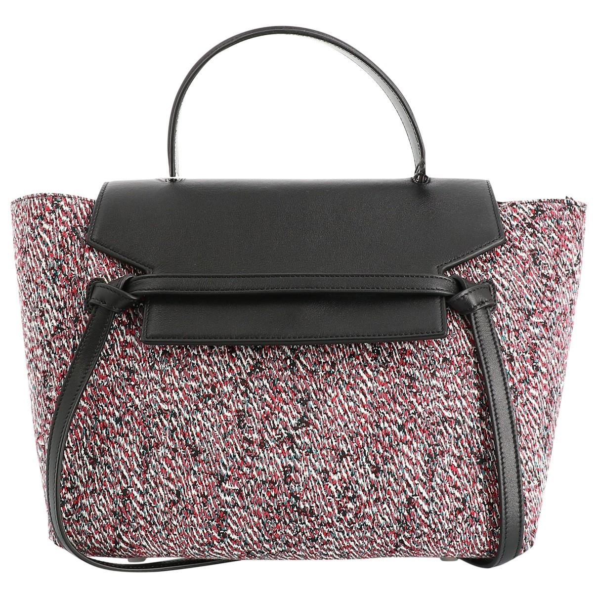 Celine Belt Black Cloth handbag for Women \N
