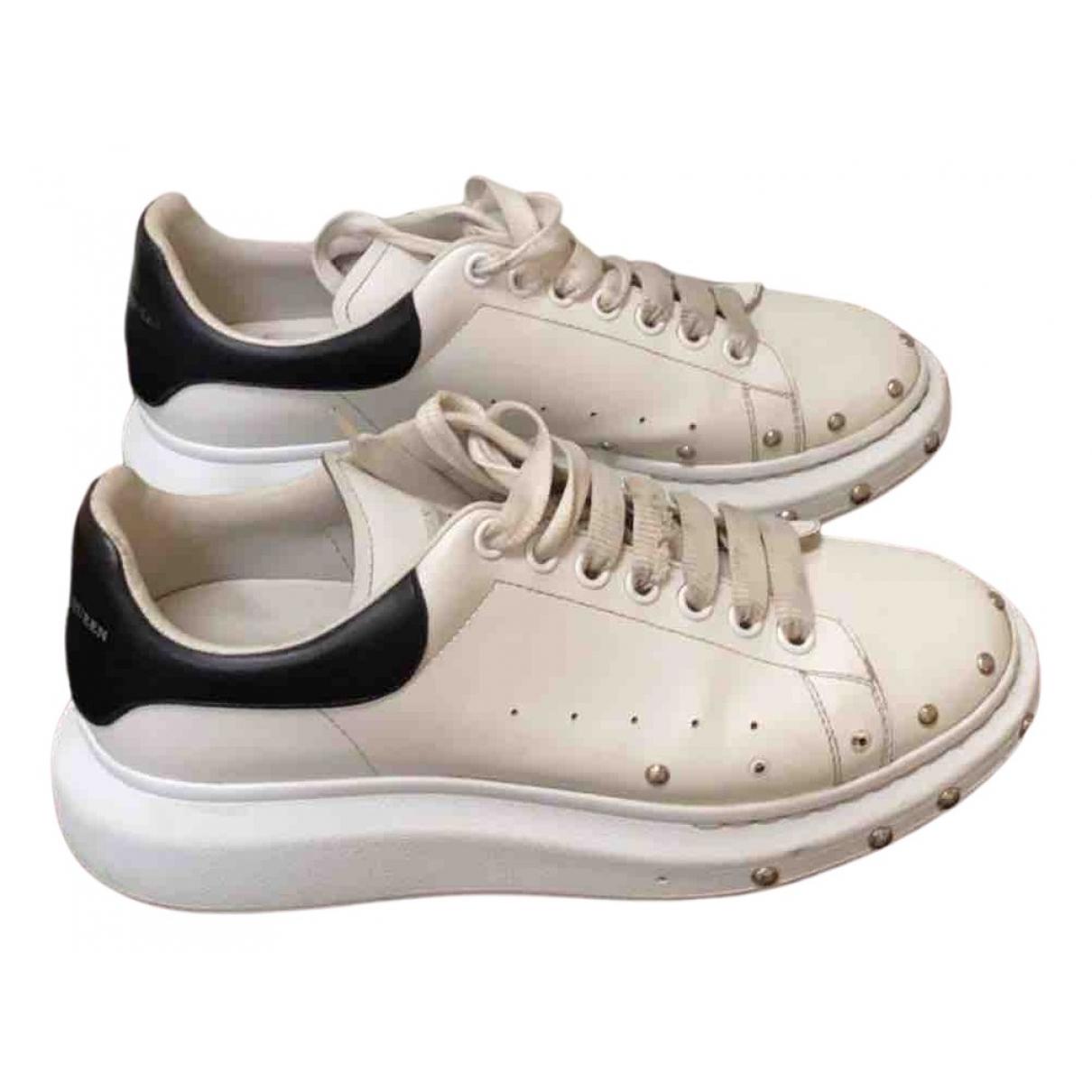 Alexander Mcqueen - Baskets Oversize pour homme en autre - blanc