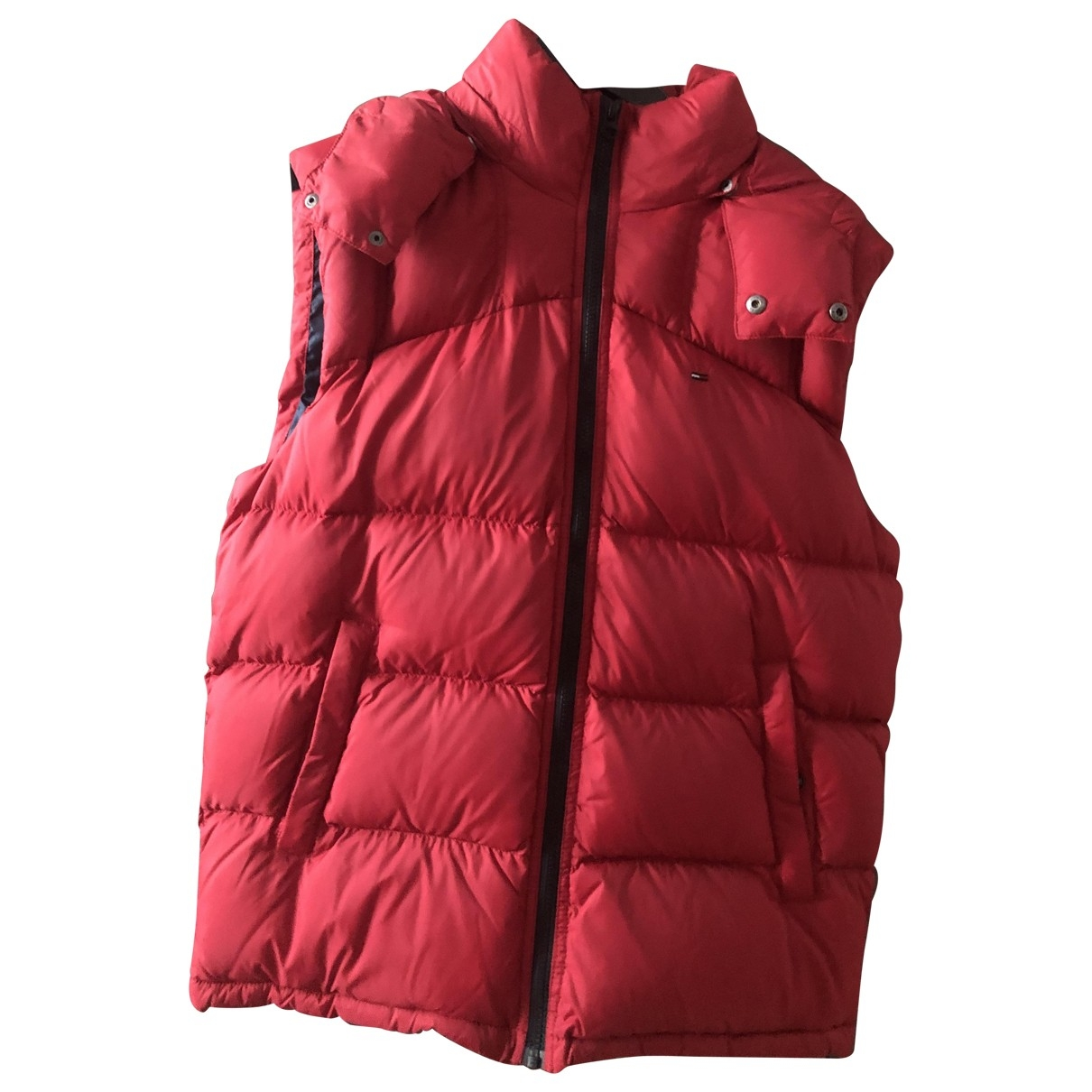 Tommy Hilfiger \N Maentel in  Rot Polyester