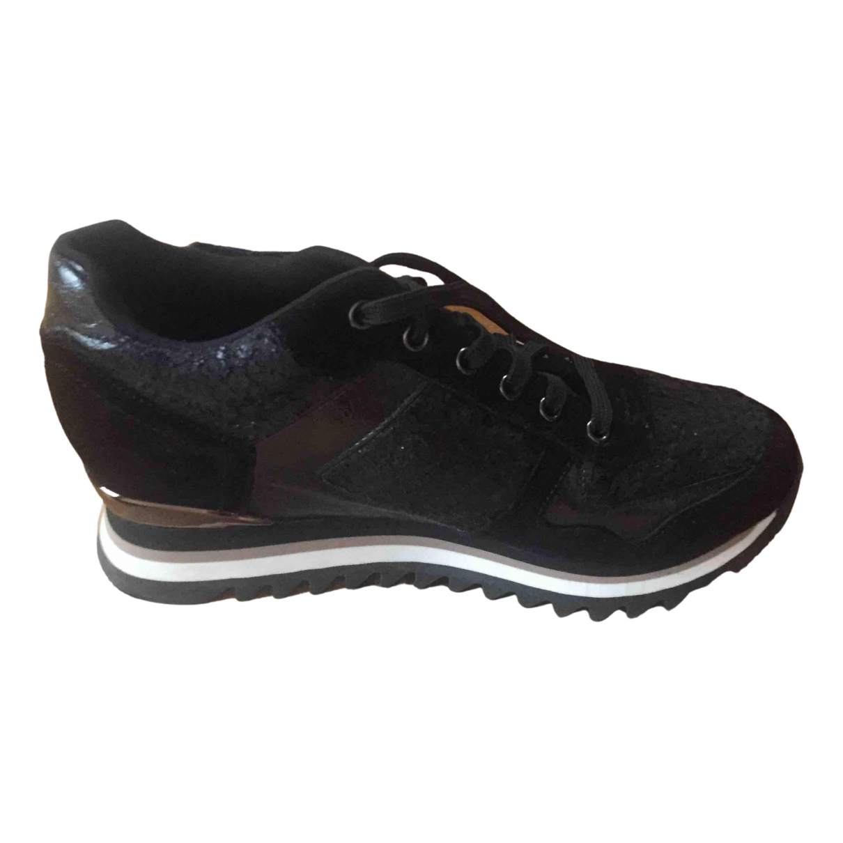 Gioseppo \N Black Leather Trainers for Women 38 EU