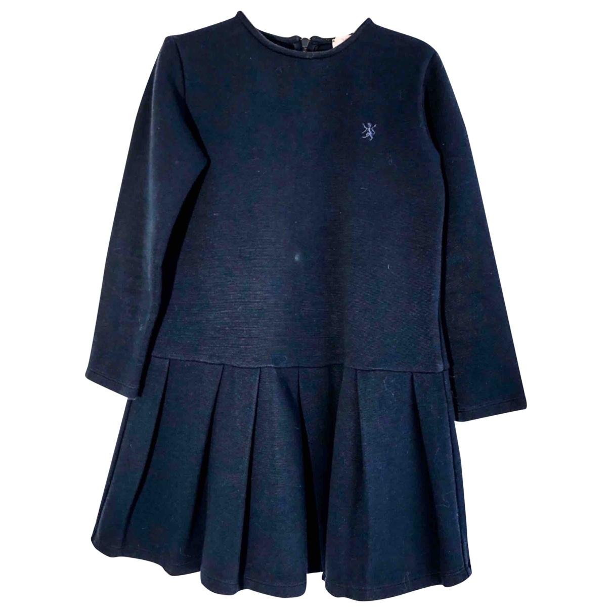 Mauro Grifoni - Robe    pour enfant en coton - bleu