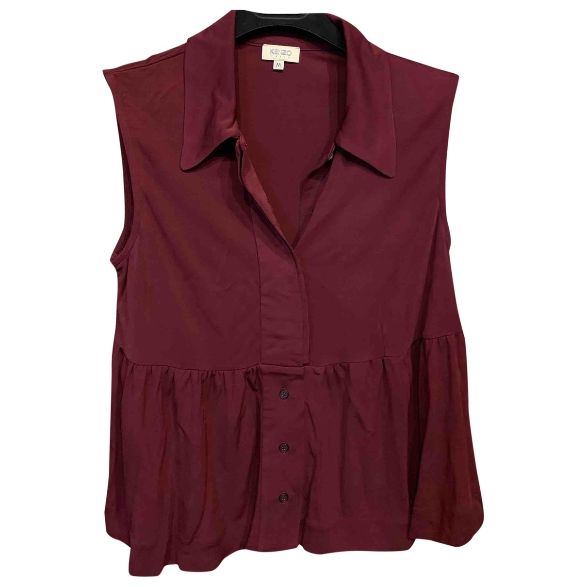 Kenzo \N Burgundy  top for Women M International