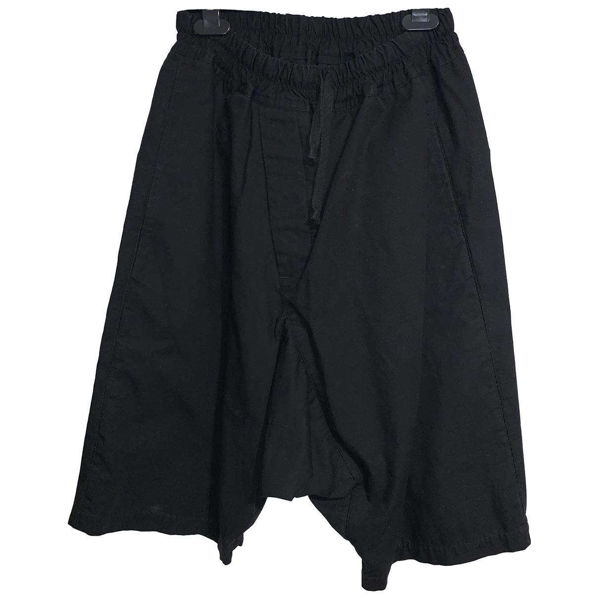 Non Signe / Unsigned \N Shorts in  Schwarz Baumwolle