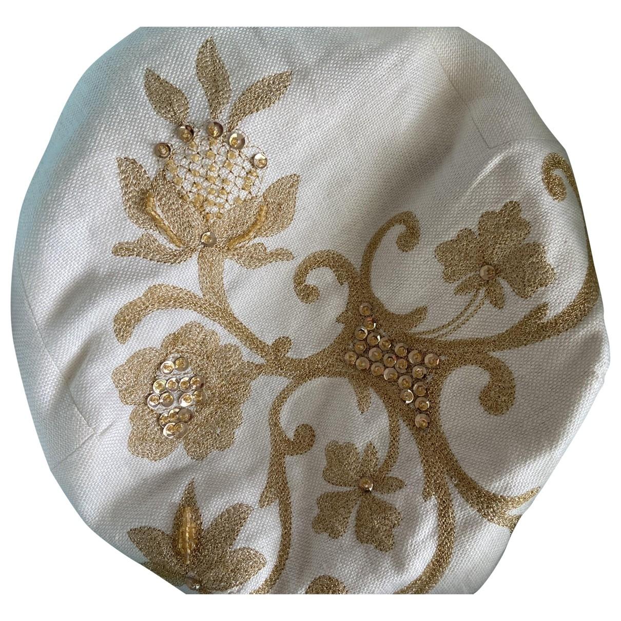 Non Signé / Unsigned \N Ecru Linen hat for Women M International