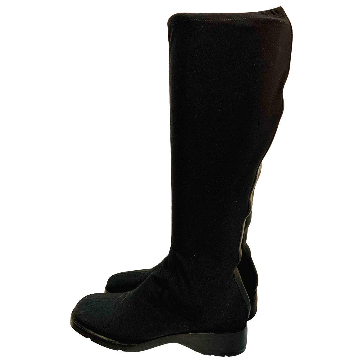 Gucci \N Black Cloth Boots for Women 39 EU