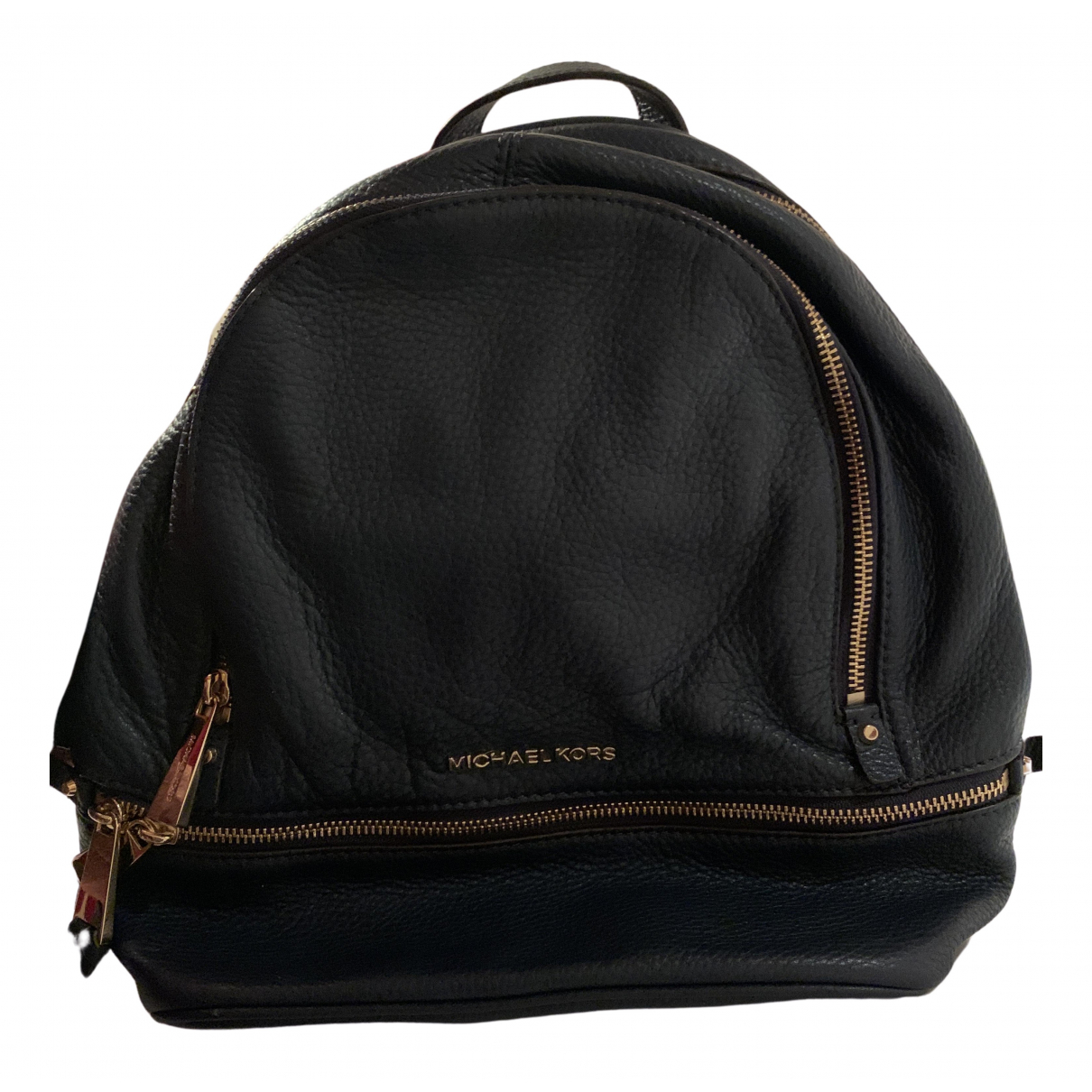 Michael Kors Rhea Blue Leather backpack for Women N