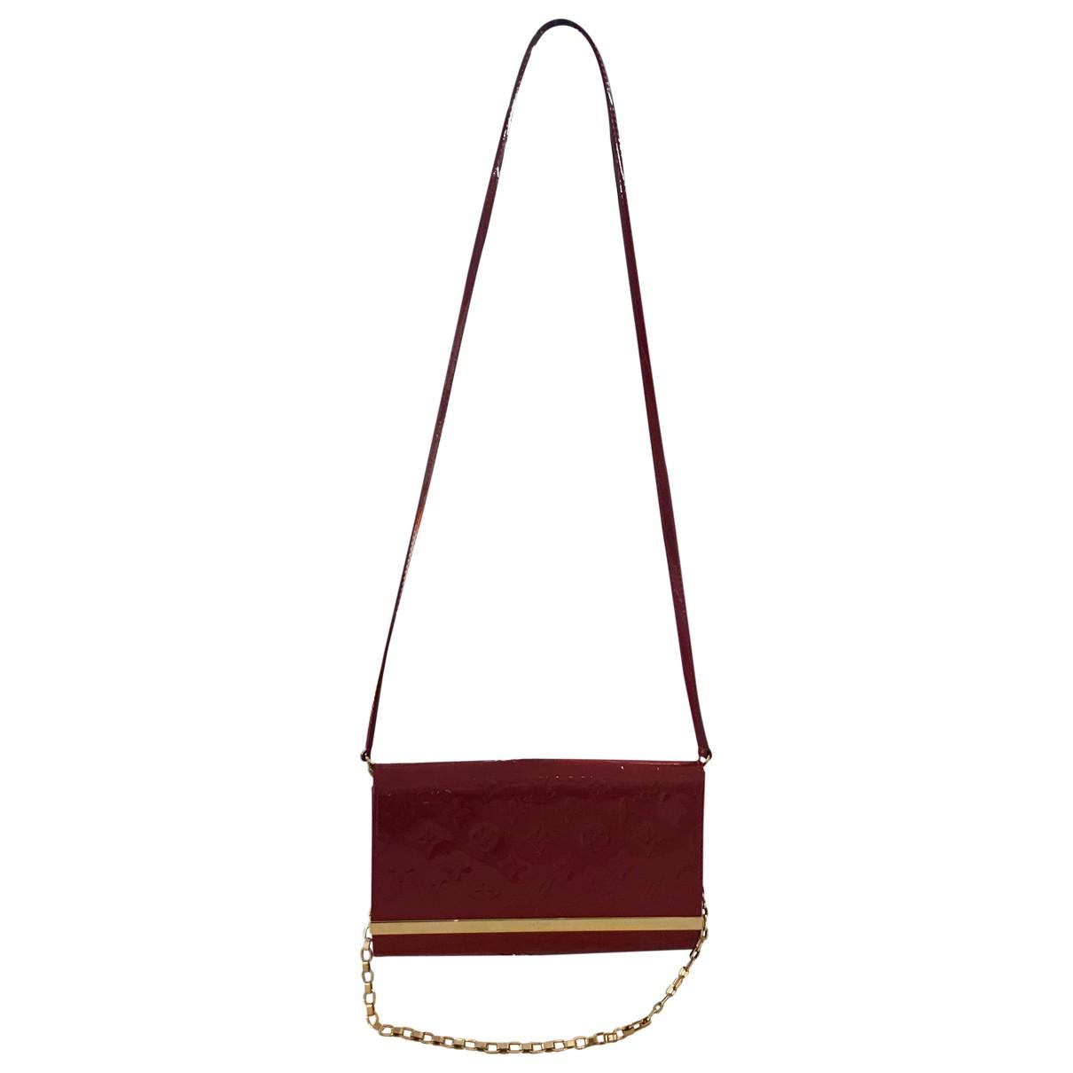 Louis Vuitton - Sac a main Ana pour femme en cuir verni - rouge