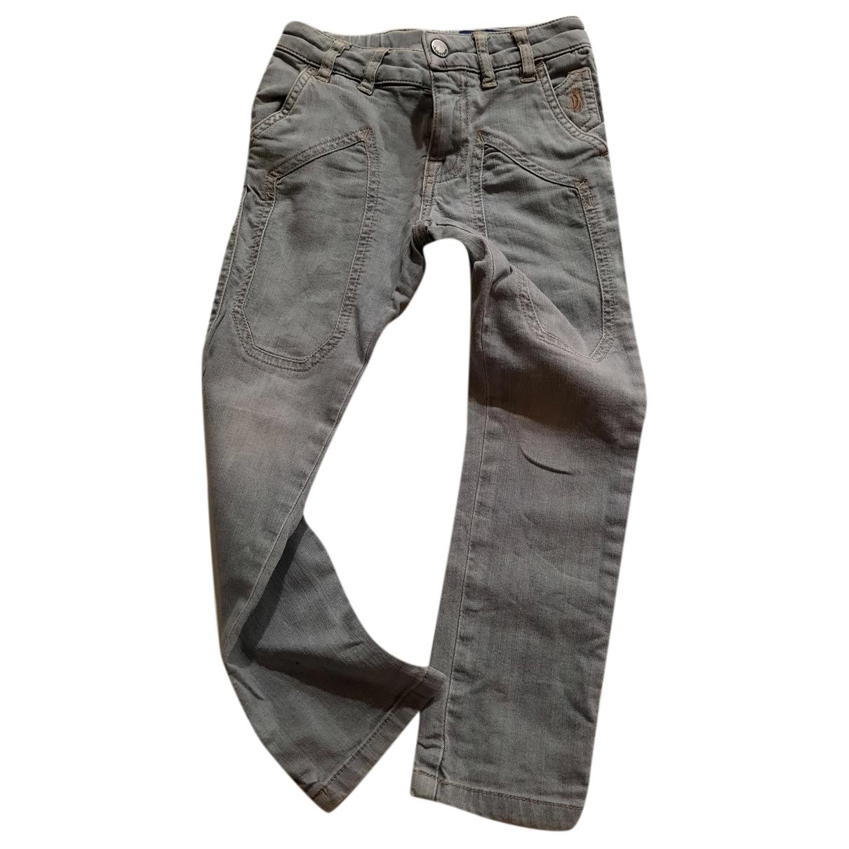 Autre Marque - Pantalon   pour enfant en denim - gris