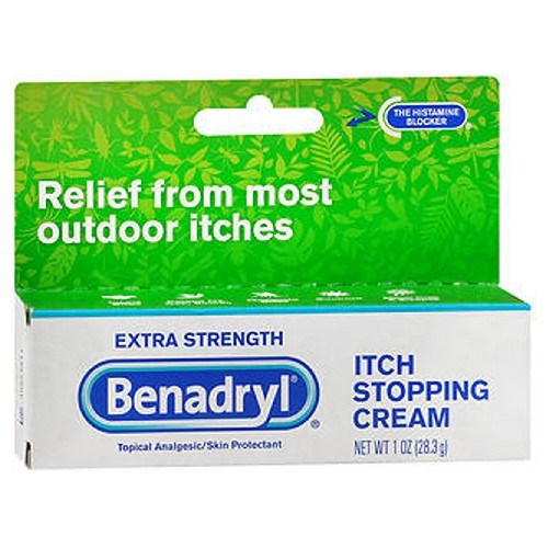 Benadryl Itch Stopping Cream Extra Strength 1 oz by Benadryl
