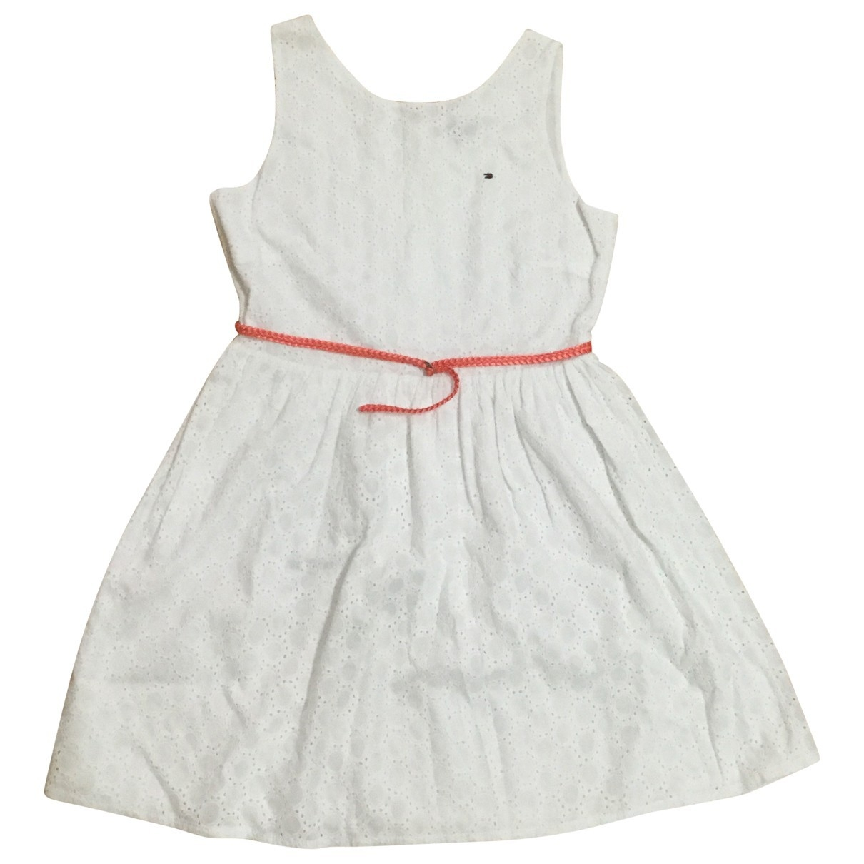 Tommy Hilfiger \N White Lace dress for Women 36 FR