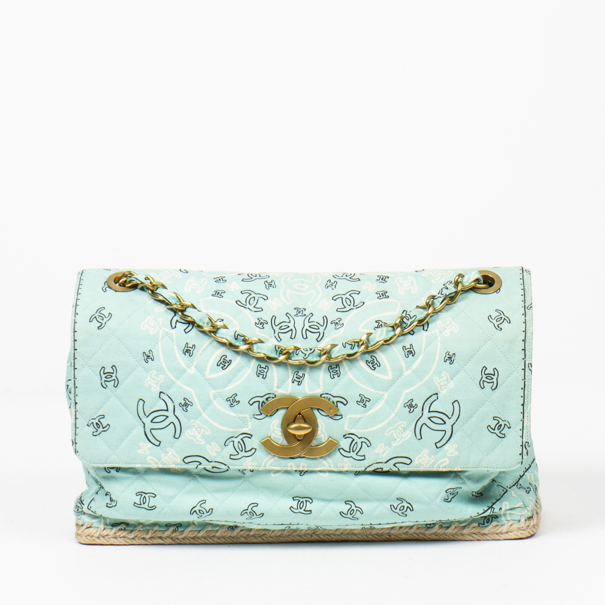 Chanel \N Green Leather handbag for Women \N