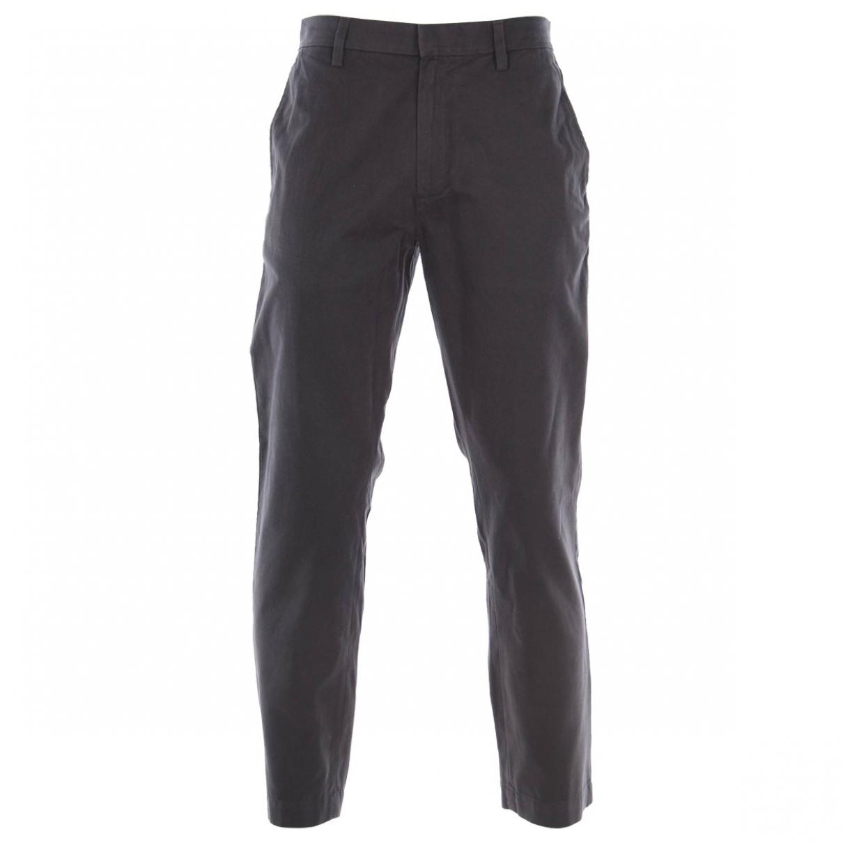 Banana Republic \N Grey Cotton Trousers for Men M International
