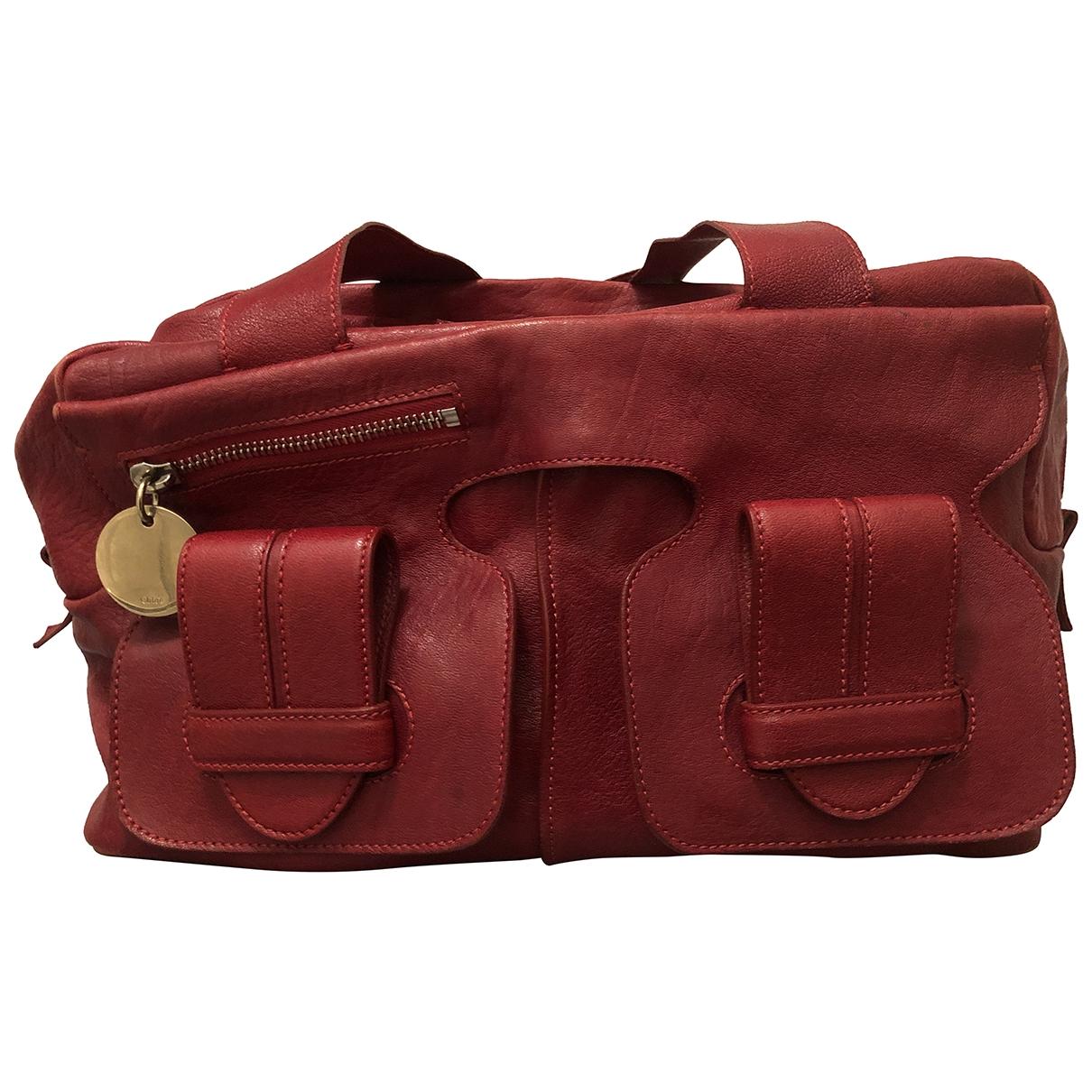 Chloé \N Red Leather handbag for Women \N