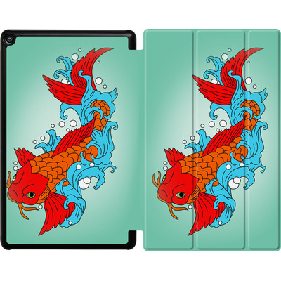 Amazon Fire HD 10 (2017) Tablet Smart Case - Koi Carp von Mark Ashkenazi