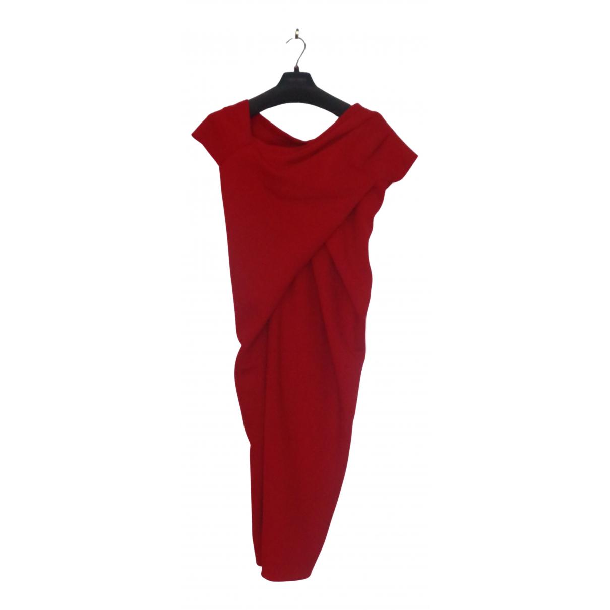 Donna Karan - Robe   pour femme - rouge