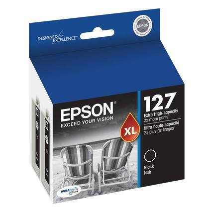 Epson T127120-D2 cartouche d'encre originale noire extra haute capacité