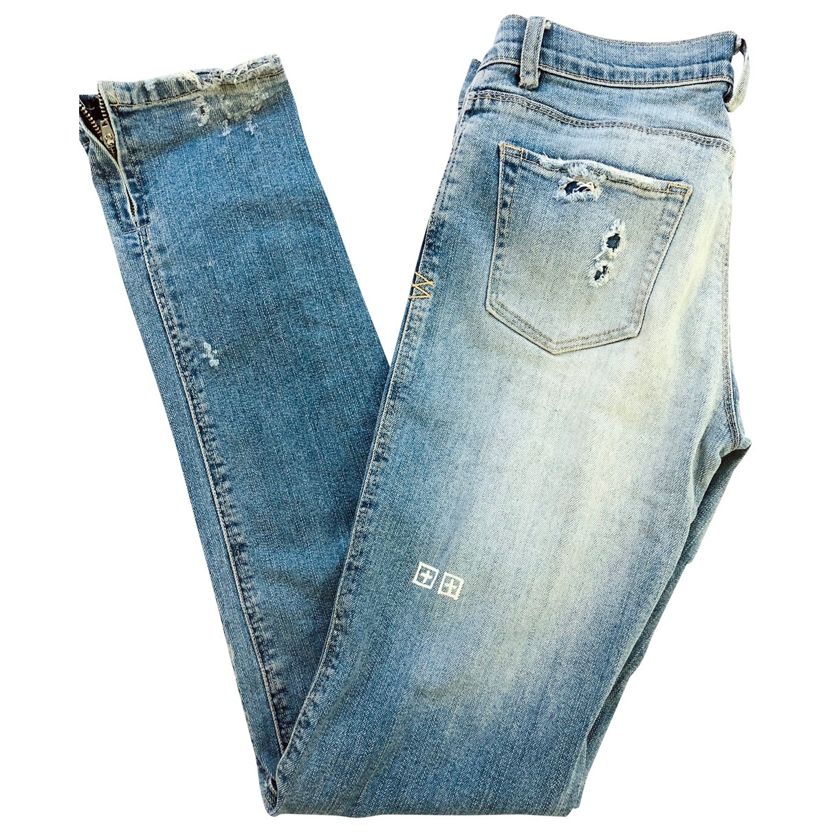 Ksubi \N Blue Cotton Jeans for Women 26 US
