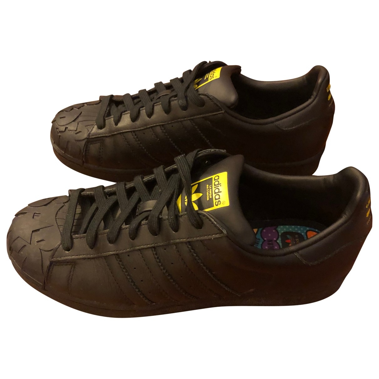 Deportivas de Cuero Adidas X Pharrell Williams