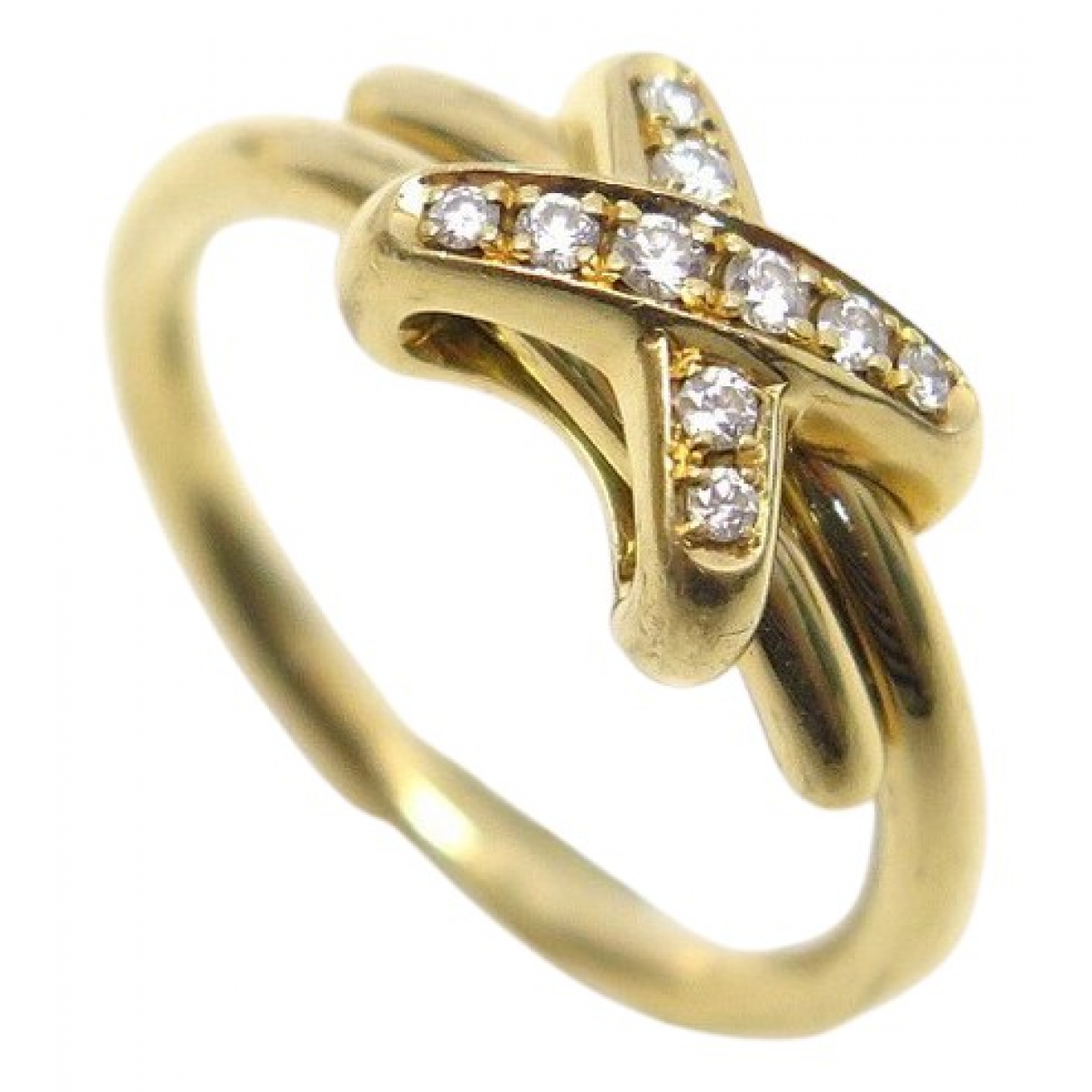 Chaumet N Gold Yellow gold ring for Women 52 MM