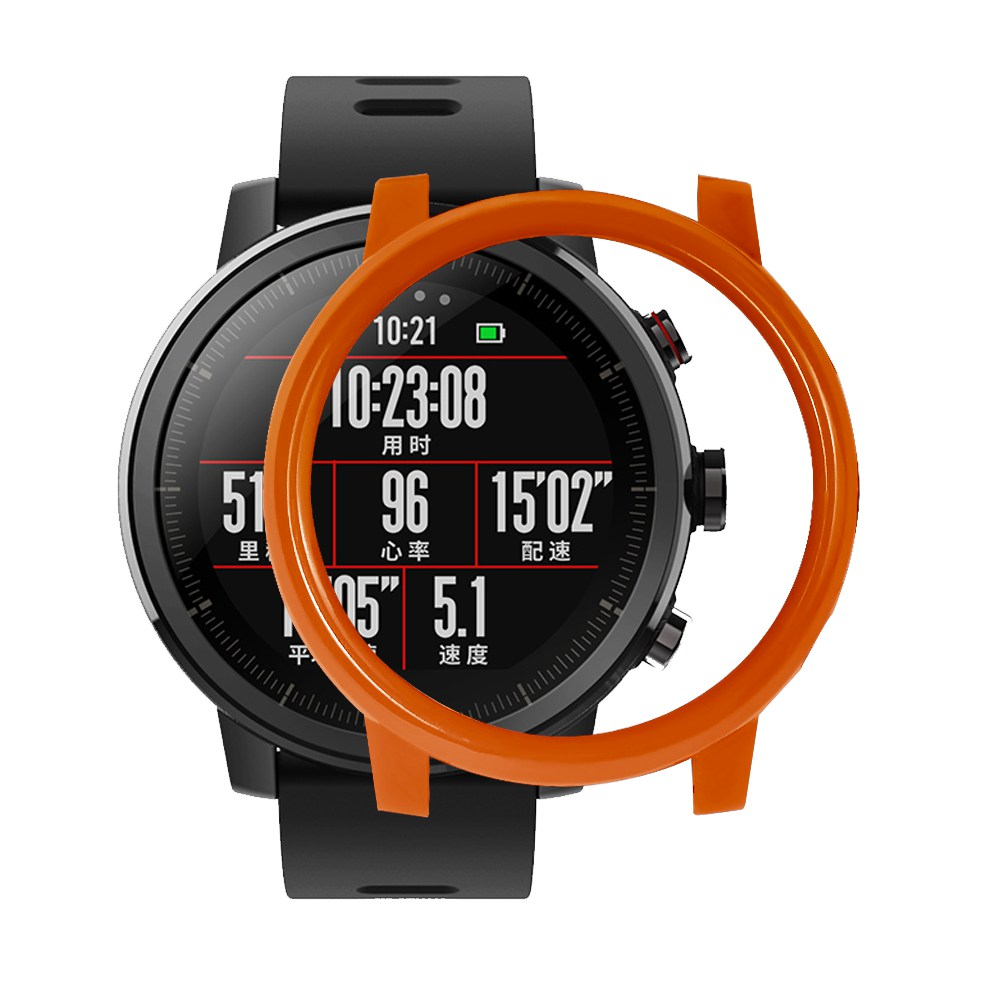 Protective Cover Case For Xiaomi HUAMI AMAZFIT Stratos Smart Sports Watch 2/2s - Orange