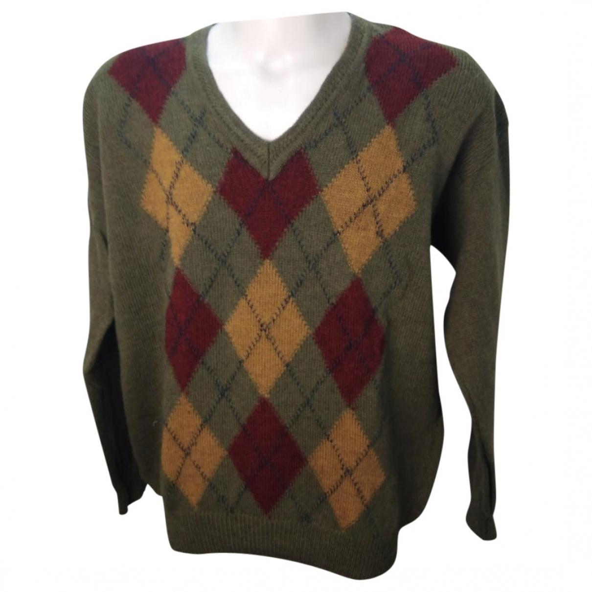 Dior \N Pullover.Westen.Sweatshirts  in  Gruen Wolle