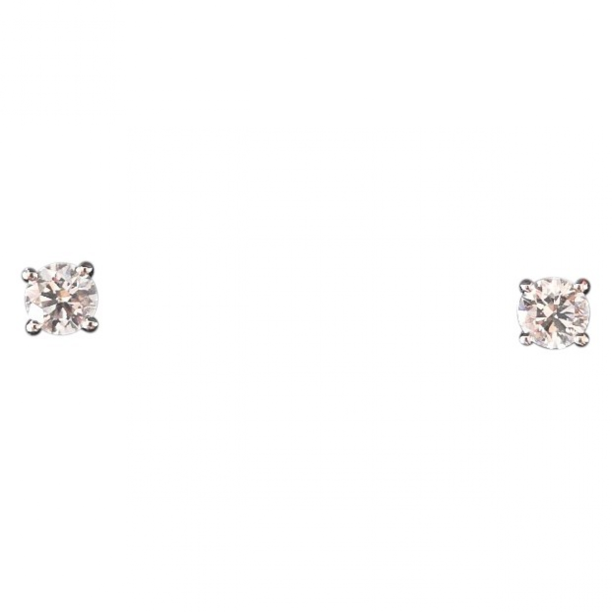 Tiffany & Co \N White Platinum Earrings for Women \N