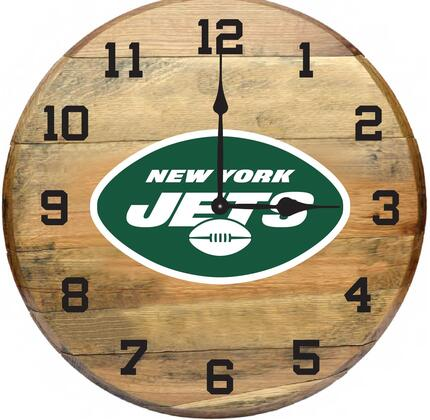 630-1038 New York Jets Oak Barrel