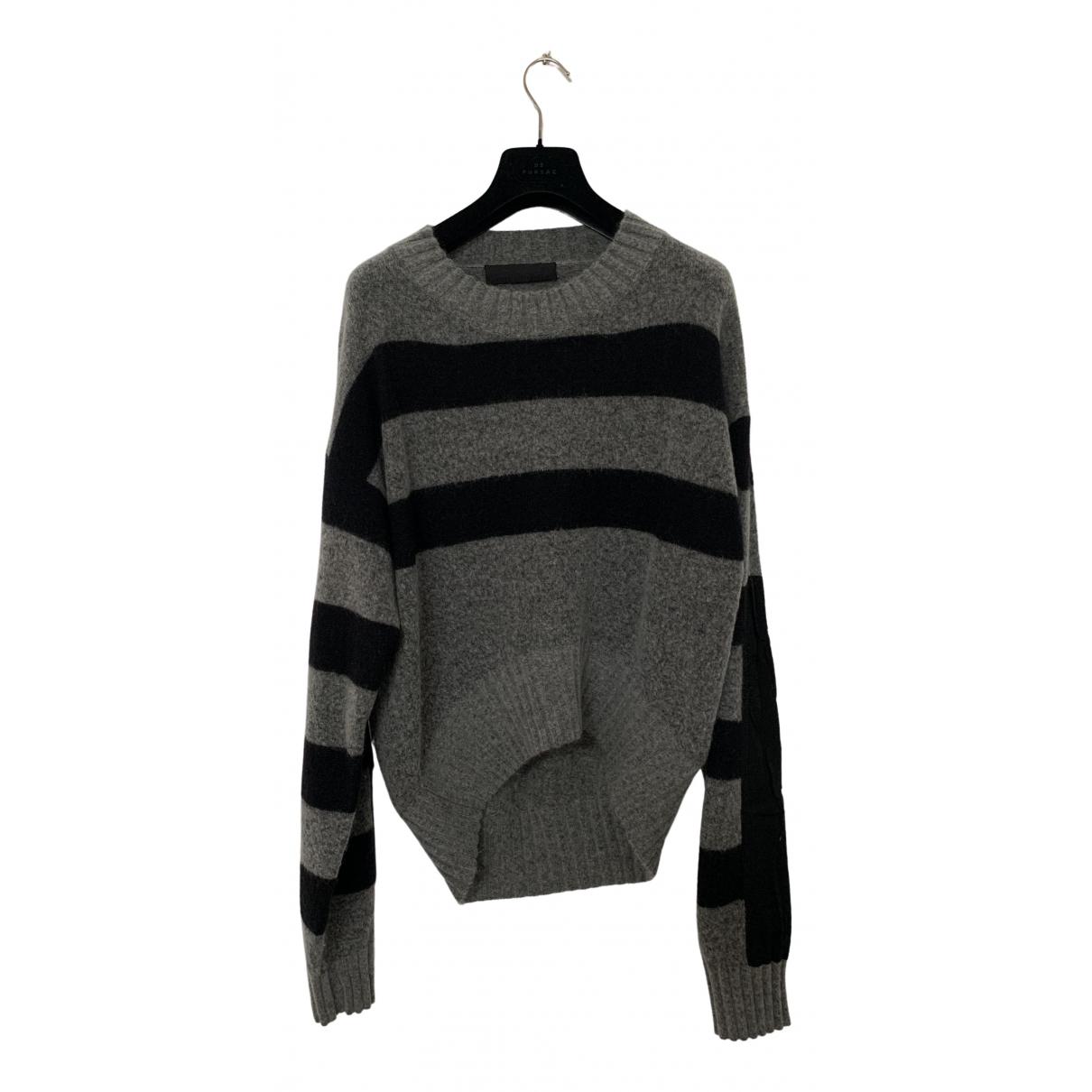 Haider Ackermann \N Pullover.Westen.Sweatshirts  in  Grau Wolle