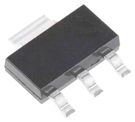 STMicroelectronics 2STN1550 NPN Bipolar Transistor, 5 A, 10 (Peak) A, 50 V, 4-Pin SOT-223 (1000)