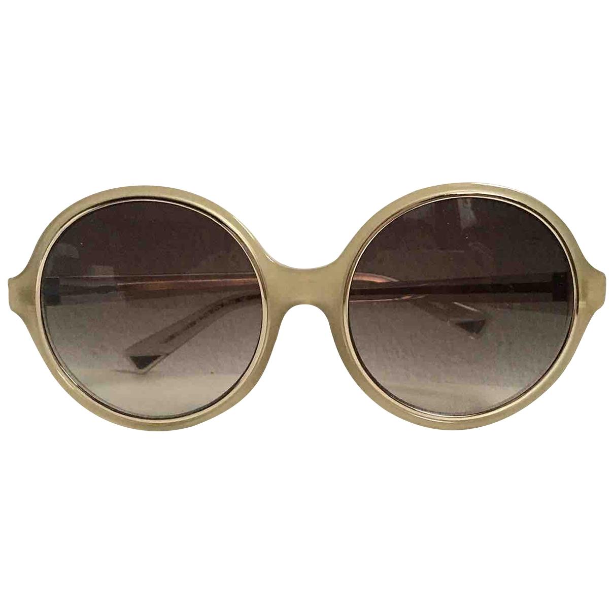 Nina Ricci \N Sonnenbrillen in  Khaki Kunststoff