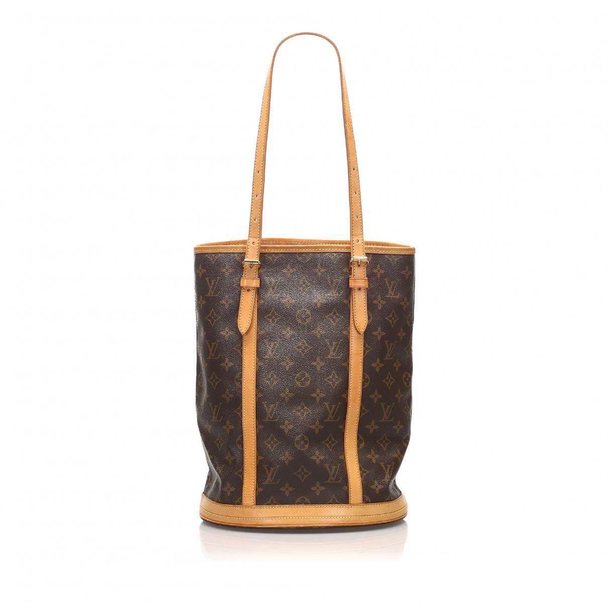 Cabas Bucket de Lona Louis Vuitton