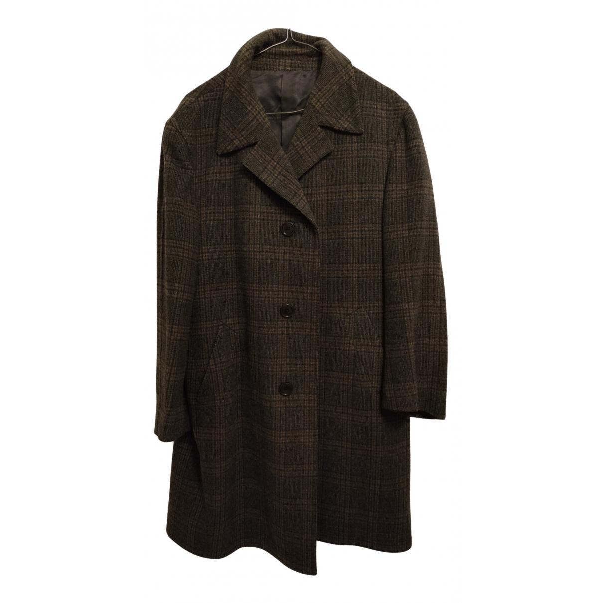 - Manteau Epaulettes pour homme en laine - gris