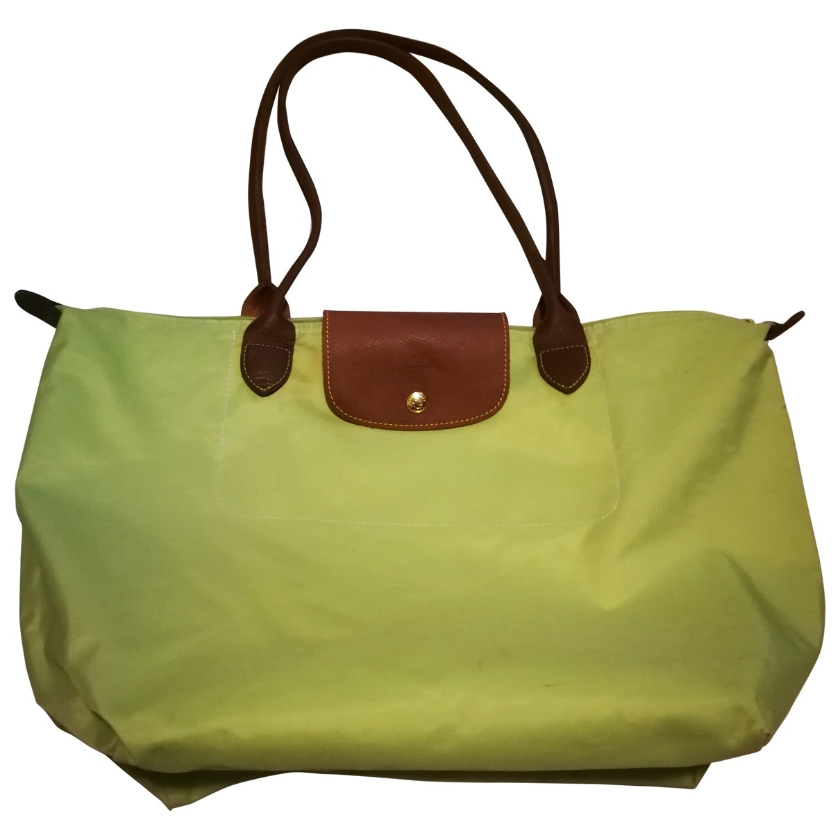 Longchamp - Sac a main   pour femme - vert