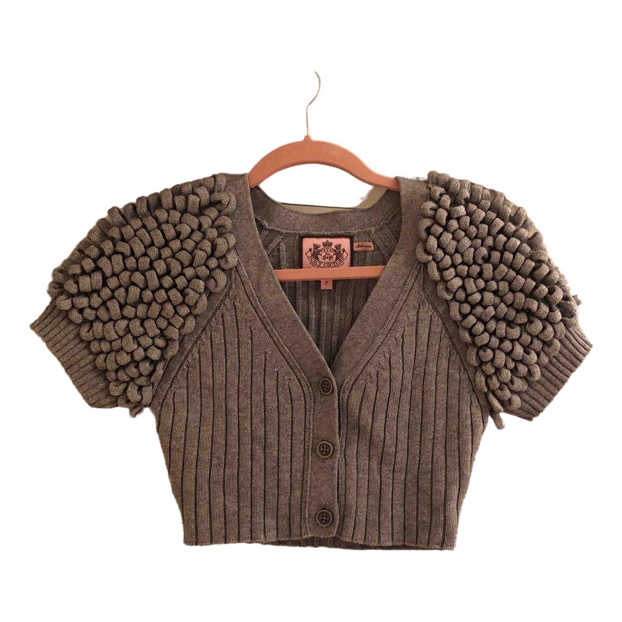 Juicy Couture \N Pullover in  Grau Baumwolle