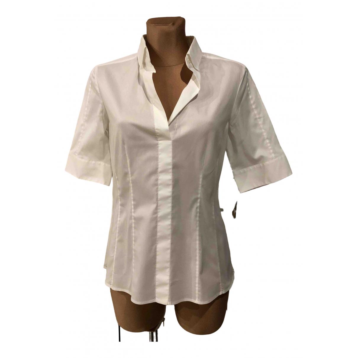 Boss \N White Cotton  top for Women 42 FR