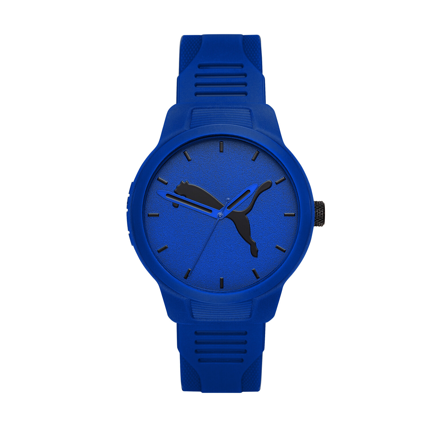 Puma Men's Reset P5014 Blue Polyurethane Quartz Fashion Watch