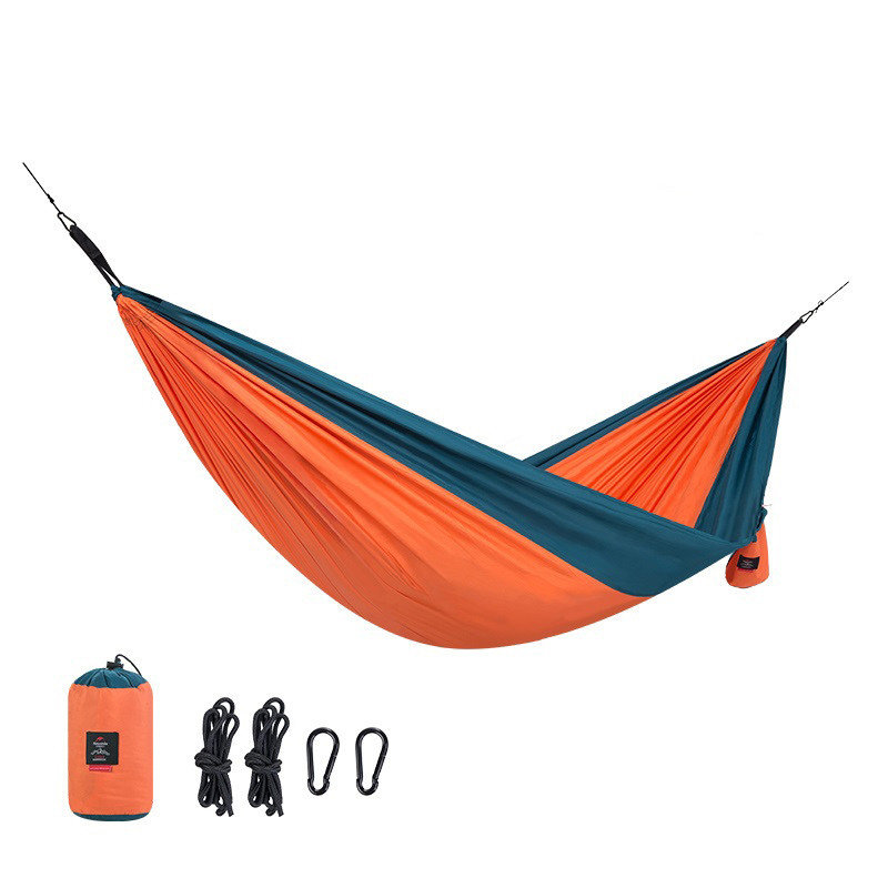 Naturehike Single Double Hammock Portable Polyester Swing Bed Max Load 180kg NH17D012-C